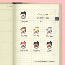 Load image into Gallery viewer, Take a Break Planner Stickers