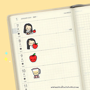 Apple Planner Stickers