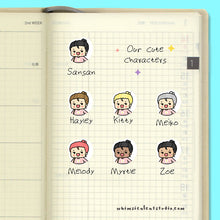 Load image into Gallery viewer, Swimming Planner Stickers