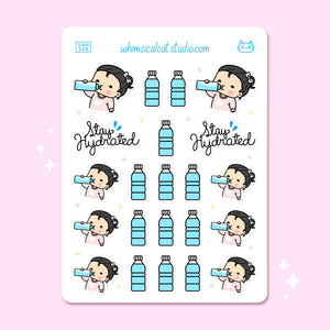 Stay Hydrated Planner Stickers