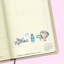 Load image into Gallery viewer, Stay Hydrated Planner Stickers