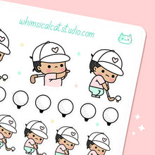 Load image into Gallery viewer, Golf Planner Stickers