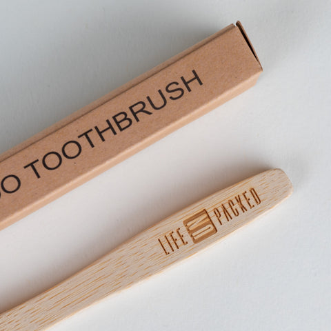 Bamboo Toothbrush Handle Composition