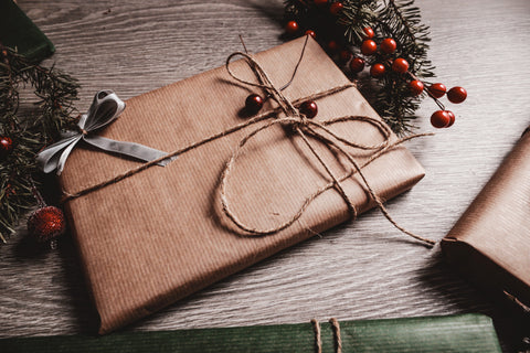 Eco-friendly wrapped present