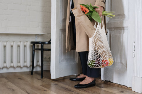 reusable shopping grocery bag