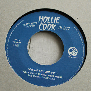 "Prince Fatty & Hollie Cook - For Me You Are - 7"" Vinyl"