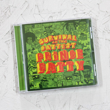Prince Fatty - Survival Of The Fattest - CD / Vinyl LP