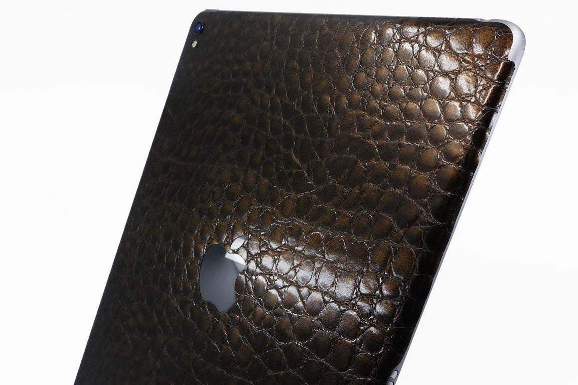 Brun Alligator iPad skin