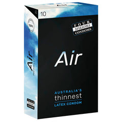 Four Seasons Air - Ultra Thin Latex Condoms - 10 Pack