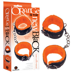Orange Is The New Black - Love Cuffs - Wrist - Black Fluffy Wrist Restraints