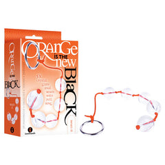 Orange Is The New Black - Bead-It - Clear Anal Beads with Ring Pull