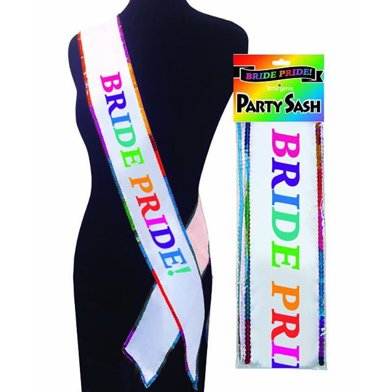 Bride Pride Party Sash - Hens Party Novelty