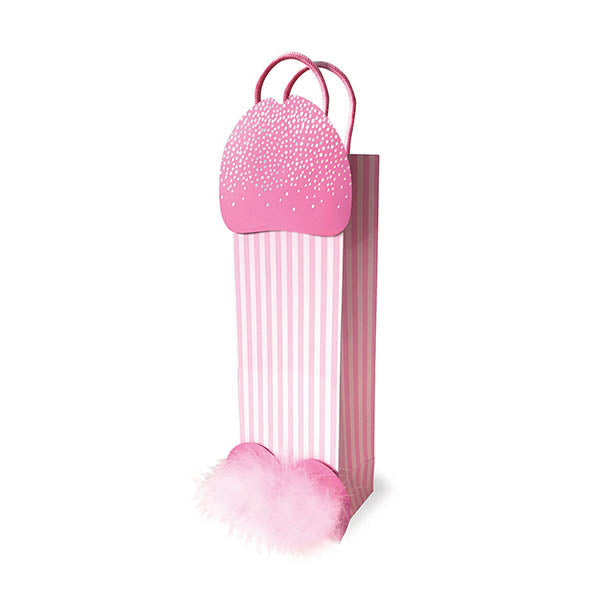 3D Sparkling Penis Gift Bag - Novelty Gift Bag
