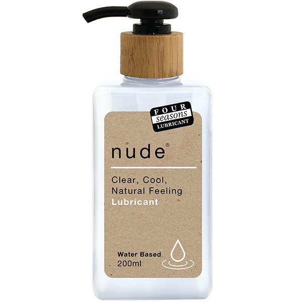 Four Seasons Nude - Water Based Lubricant - 200 ml