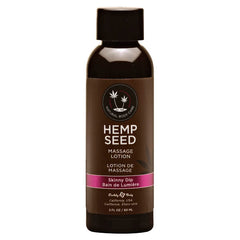 Hemp Seed Massage Lotion - Skinny Dip (Vanilla & Faiy Floss) Scented - 59 ml Bottle