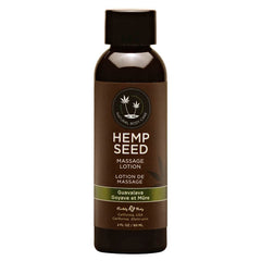 Hemp Seed Massage Lotion - Guavalava (Guava & Blackberry) Scented - 59 ml Bottle