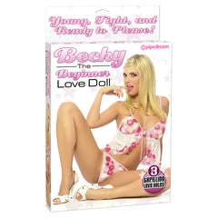 Becky The Beginner Love Doll - Inflatable Love Doll