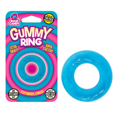 Rock Candy Gummy Ring - Blue Cock Rings - Set of 2