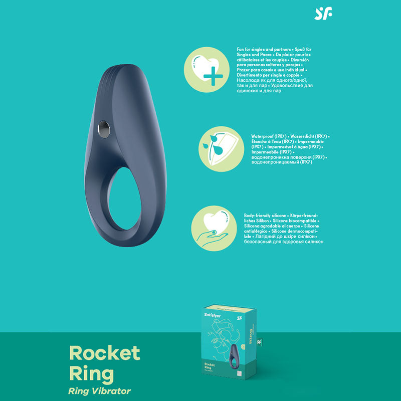 Satisfyer Rocket Ring - Vibrating Cock Ring