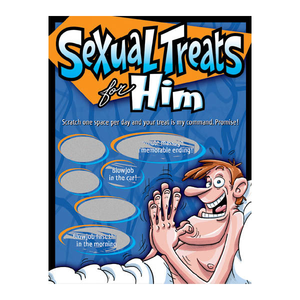 Sexy Scratcher - Sexual Treats For Him -