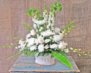 Funeral Sympathy Baskets & Urn Arrangements