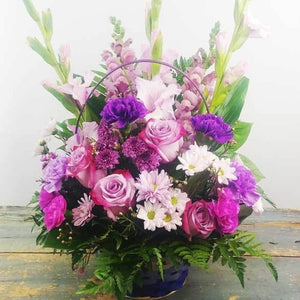 Touch of  Purple Basket