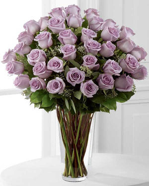 THREE DOZEN LAVENDER (PURPLE) ROSE BOUQUET