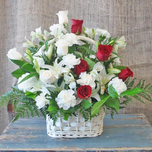 HEART FELT CONDOLENCES BASKET