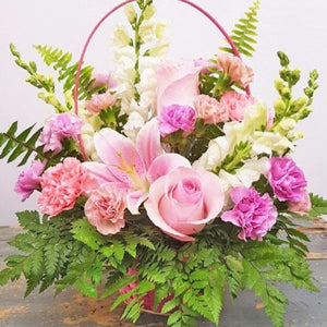 PINK DELIGHT BASKET