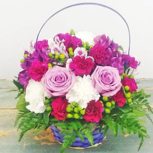 PURPLE DELIGHT BASKET