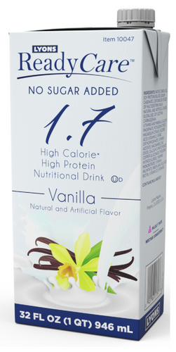 Vanilla No Sugar Added 1.7