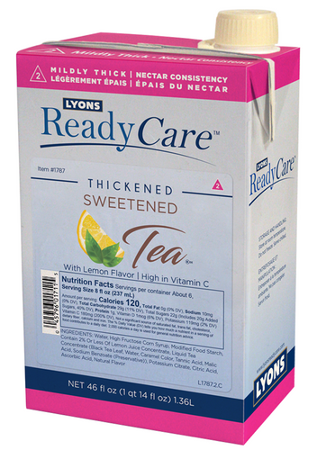 Thickened Sweet Tea - Nectar/Level 2