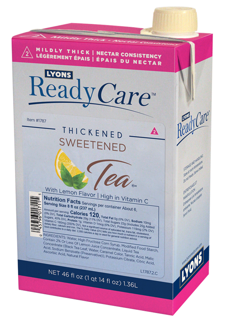 Thickened Sweetened Tea - Nectar/Level 2