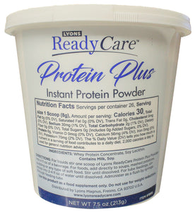 Protein Plus powder tub