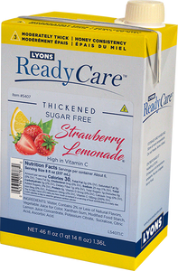 Thickened Strawberry Lemonade, Sugar Free – Honey/Level 3