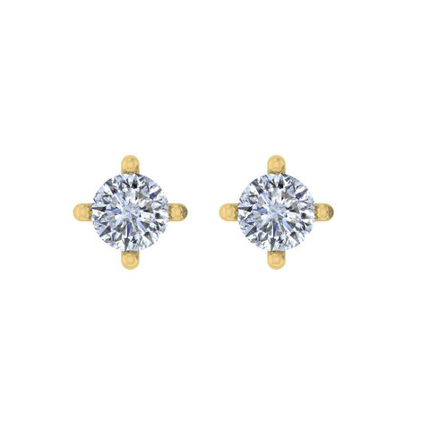 Image of 0.20 ct Classic Round Solitaire Studs