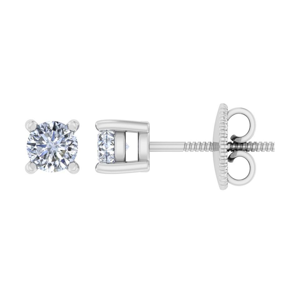 0.20 ct Timeless Round Solitaire Studs