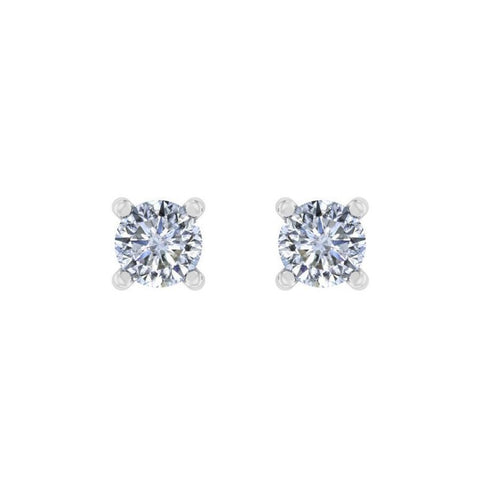 Image of 0.20 ct Timeless Round Solitaire Studs