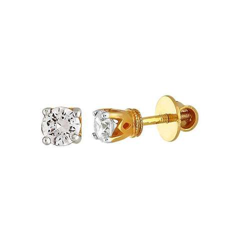 Image of 0.5 ct Stellar Diamond Studs