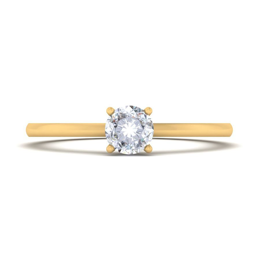 0.50 ct Classic Diamond Solitaire Ring