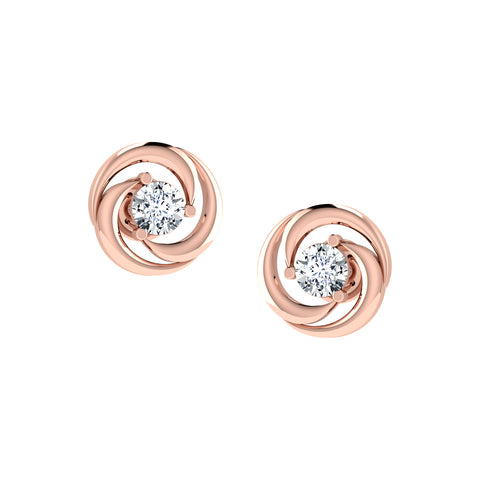 14 KT Rose Gold Tops  in 2.812 gms