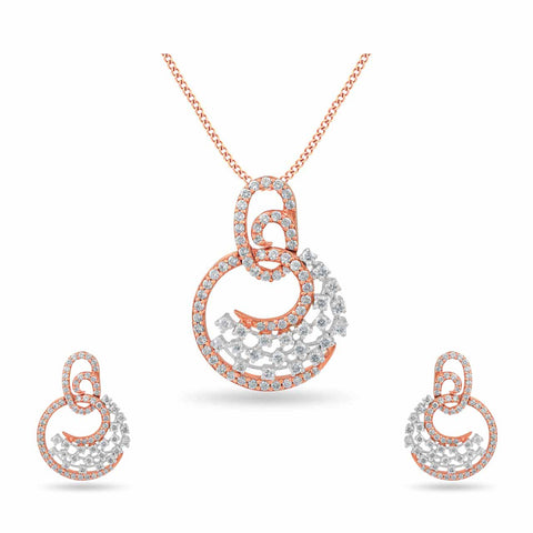 Image of 18 KT Rose gold Sets in 10.68 gms