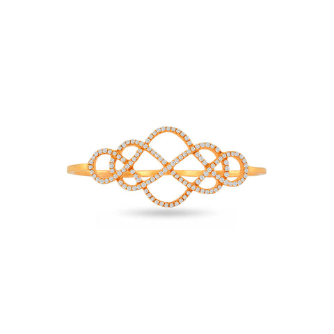 18 KT Yellow gold Casual Rings in 4.73 gms