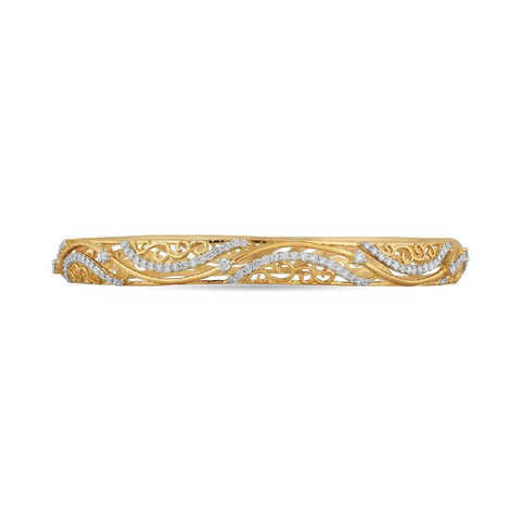 18 KT Yellow Gold Other Bangles and Kadas in 33.332 gms