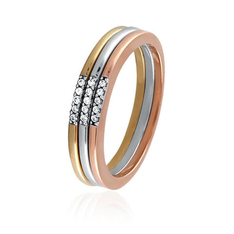 3 piece Diamond Stackable Set