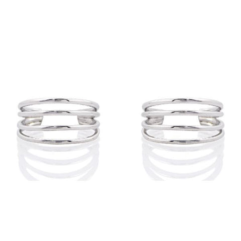 Image of 925 Silver Toe Rings in 4 gms