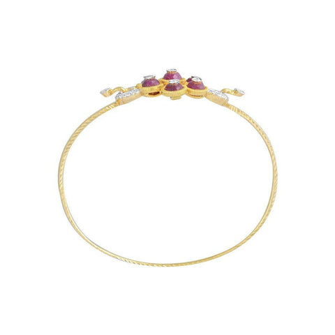 Bead Gold Bangle