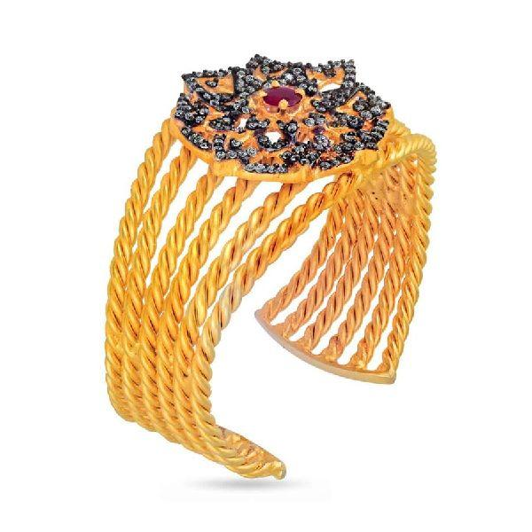 Bloom stoned Cuff
