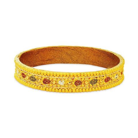 22 KT Yellow Gold Other Bangles and Kadas in 24.3 gms