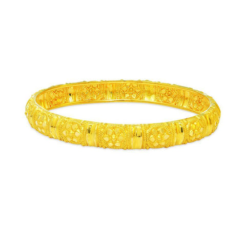 Image of 22 KT Yellow Gold Other Bangles and Kadas in 9.6 gms
